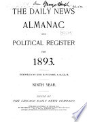 The Chicago Daily News Almanac and Yearbook ....