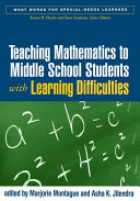 Teaching Mathematics to Middle School Students with Learning Difficulties