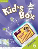 Kid's Box American English Level 6 Workbook with CD-ROM