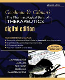 Goodman and Gilman's Pharmacological Basis of Therapeutics Digital Edition