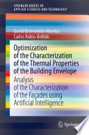 Optimization of the Characterization of the Thermal Properties of the Building Envelope Book