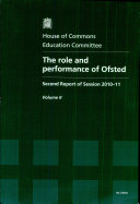 The Role and Performance of Ofsted