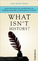 Pdf What Isn't History?