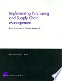 Implementing Purchasing and Supply Chain Management
