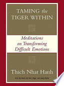 Taming the Tiger Within Book
