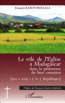 Le rôle de l'Eglise à Madagascar dans la promotion du bien commun