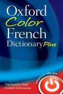 Oxford Color French Dictionary Plus