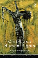 Christ and Human Rights Pdf/ePub eBook