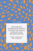 Pdf Rethinking Interdisciplinarity across the Social Sciences and Neurosciences Telecharger