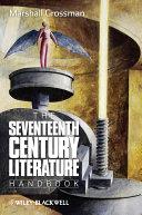 The Seventeenth   Century Literature Handbook