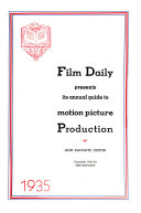 The Film Daily Product Guide and Director's Annual ebook