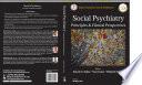 Social Psychiatry Book