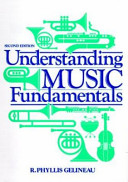 Understanding Music Fundamentals Book