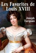 Pdf Les Favorites de Louis XVIII Telecharger