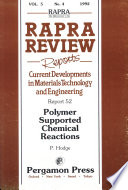 Polymer Supported Chemical Reactions
