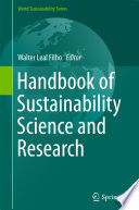 Handbook of Sustainability Science and Research