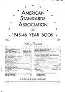 Yearbook   American Engineering Standards Committee