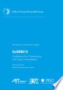 CeDEM15