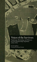 Voices of the Survivors