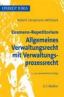 Examens-Repetitorium Allgemeines Verwaltungsrecht mit ...