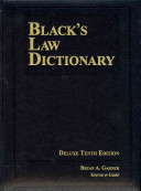 Black s Law Dictionary
