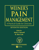 Weiner s Pain Management