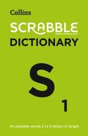 Collins Scrabble Dictionary Book