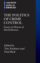 The politics of crime control