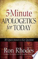 5 Minute Apologetics For Today Book