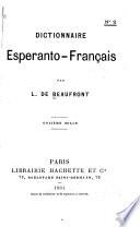 Dictionnaire esperanto-français