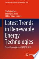 Latest Trends in Renewable Energy Technologies