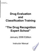 Drug Recognition Expert School