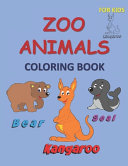 Zoo Animals Coloring Book for Kids