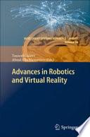 Advances in Robotics and Virtual Reality Book