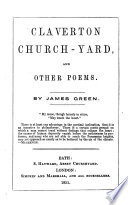 Claverton Church Yard And Other Poems