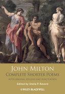 John Milton Complete Shorter Poems