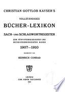 Vollständiges bücher-lexicon enthaltend alle von 1750 bis zu ende des jahres 1832 in Deutschland und in den angrenzenden ländern gedruckten bücher ...