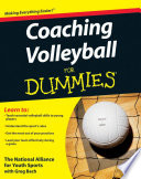 """Coaching Volleyball For Dummies"" by The National Alliance For Youth Sports"