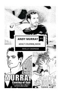 Andy Murray Adult Coloring Book