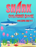 Shark Coloring Book for Kids Age 2 4