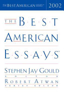 The Best American Essays 2002