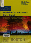 Proceedings of the Tenth Workshop on Electronics for LCH and Future Experiments Book
