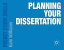 Cover of Planning Your Dissertation