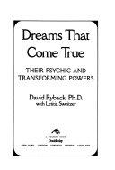 Dreams that Come True Book PDF