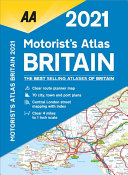 Motorists Atlas Britain 2021