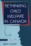Rethinking Child Welfare in Canada Book