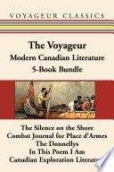 The Voyageur Modern Canadian Literature 5 Book Bundle
