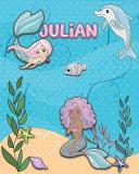 Handwriting Practice 120 Page Mermaid Pals Book Julian