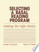 Selecting A Basal Reading Program