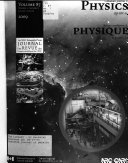 Canadian Journal of Physics